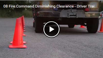 Fire Command Diminishing Clearance - Driver Training