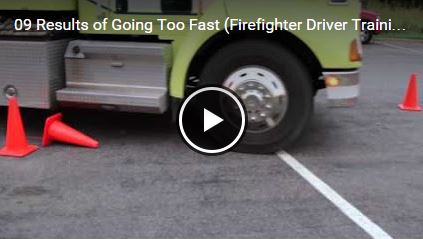 Results of Going Too Fast (Firefighter Driver Training)