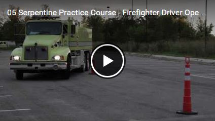 Serpentine Practice Course - Firefighter Driver Operator Training