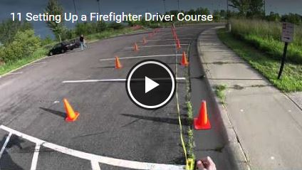 Setting Up a Firefighter Driver Course