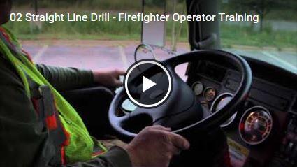 Straight Line Drill - Firefighter Operator Training