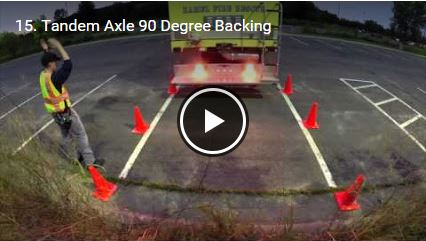 Tandem Axle 90 Degree Backing