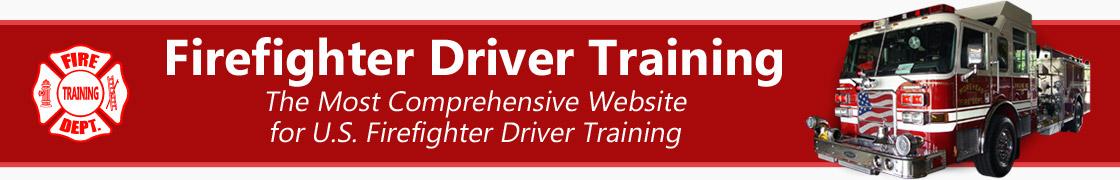 Firefighter Driver Training